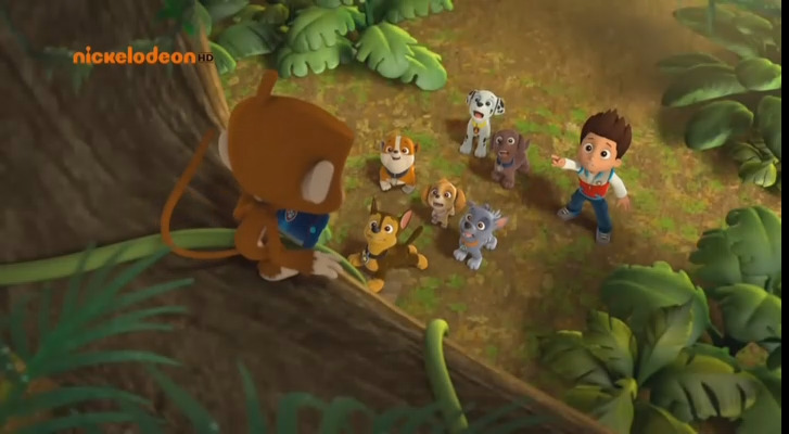 07-Pups' Jungle Trouble - Pups Save a Herd