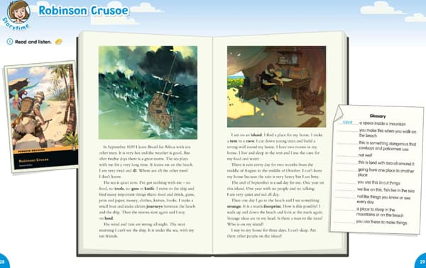 08.2 Robinson Crusoe. Story Time