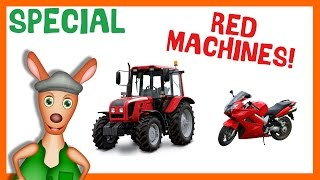 TOP 10 RED MACHINES