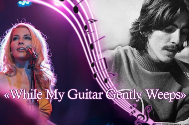While My Guitar Gently Weeps