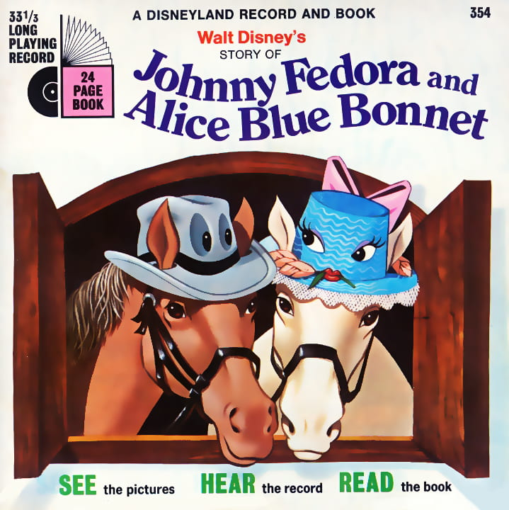 Johnny Fedora and Alice Blue Bonnet
